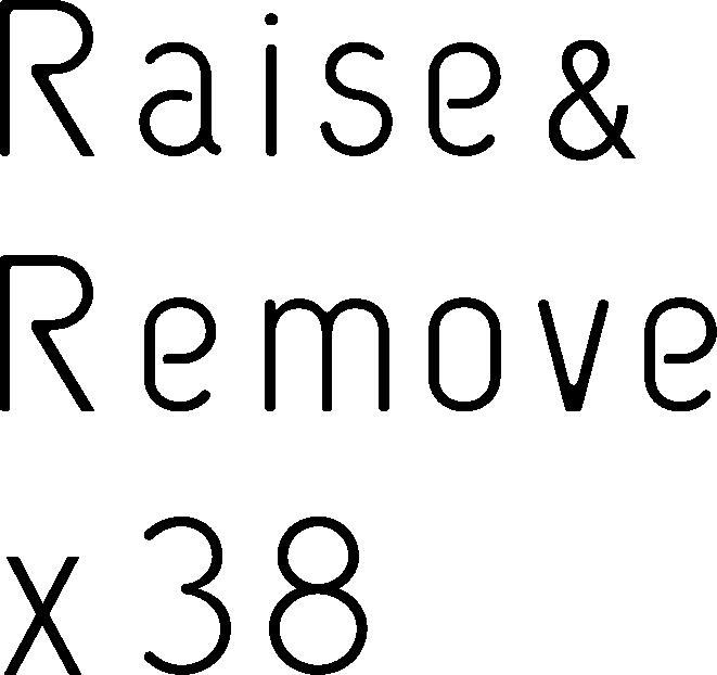 広島市中区の脱毛・育毛サロン Raise & Remove ×38(レイス&リムーヴ×スリーエイト)